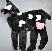 Fancy dress - A 20th Century two person pantomime cow costume. The costume is comprised of two parts