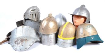 UNIFORMS AND FANCY DRESS - A COLLECTION OF MEDIEVAL KNIGHT ARMOUR FOR RE-ENACTMENT.