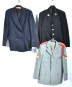 UNIFORMS & FANCY DRESS - A COLLECTION OF THREE ASSORTED SERVICES UNIFORM JACKETS