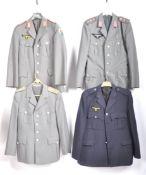 UNIFORMS AND FANCY DRESS - FOUR GERMAN COSTUME UNIFORM JACKETS