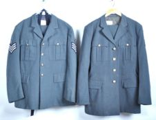 UNIFORMS AND FANCY DRESS - OFFICERS RAF NO 1. DRESS UNIFORM - WITH CHIVALRIC ORDER BUTTONS