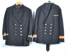 UNIFORMS AND FANCY DRESS - ROYAL NAVY LIEUTENANTS UNIFORM AND OTHER