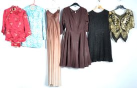 UNIFORMS AND FANY DRESS - A COLLECTION OF RETRO VINTAGE LADIES OUTFITS.