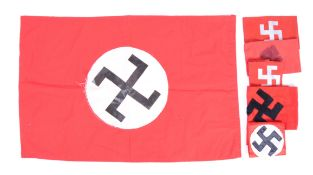 Uniform - A collection of replica WWII Nazi / Third Reich / Nazi Party re-enactment arm bands, all