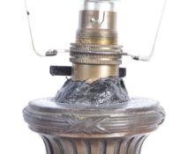 19TH CENTURY FRENCH BRONZE ART NOUVEAU TABLE LAMP