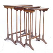 19TH CENTURY FLAME SET OF NESTING TABLES