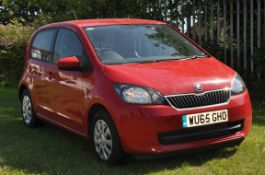 Skoda Citigo 2015 Red Low Mileage Car