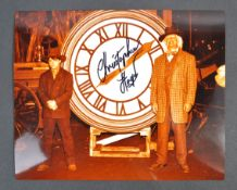 BACK TO THE FUTURE - CHRISTOPHER LLOYD - SIGNED 8X