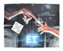 ET THE EXTRA TERRESTRIAL 1982 - ORIGINAL UK QUAD POSTER