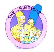 THE SIMPSONS - LARGE VINTAGE CARDBOARD STORE DISPL