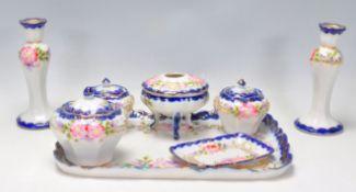 A vintage 20th Century Japanese ceramic dressing t