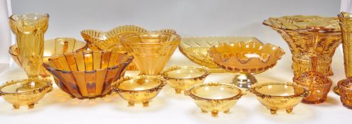 A group of early 20th Century Art Deco 1930's oran