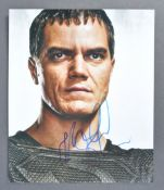 SUPERMAN MAN OF STEEL - MICHAEL SHANNON - SIGNED P