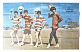 RARE ' THE BEATLES ' REVEILLE SPECIAL LARGE VINTAG