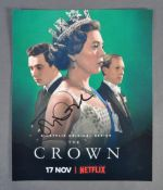 """THE CROWN - OLIVIA COLEMAN - SIGNED 12X10"""" PHOTOGR"""