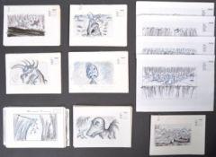 INKAS - RICHARD BAZLEY - ORIGINAL ANIMATION ARTWOR
