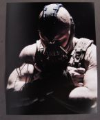 TOM HARDY - BATMAN DARK KNIGHT RISES - SIGNED PHOT