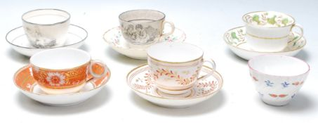 A good collection of 20th century Edwardian porcelain and ceramicstoincludecups and saucers
