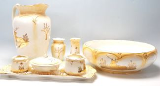 A collection of vintage 20th Century Royal Venton Ware by John Stevenson ceramics comprising