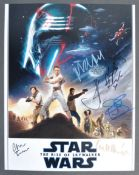 """STAR WARS - THE RISE OF SKYWALKER - SIGNED 11X14"""" PHOTOGRAPH"""