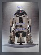 STAR WARS - KENNY BAKER - R2-D2 INCREDIBLE SIGNED 16X12 PHOTO