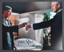 INDIANA JONES - JULIAN GLOVER AUTOGRAPHED PHOTOGRAPH