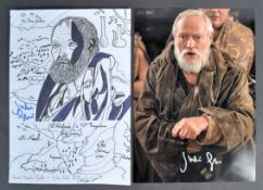 FAN ARTWORK - JULIAN GLOVER GAME OF THRONES ARTWORK