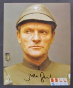 "STAR WARS - JULIAN GLOVER AUTOGRAPHED 8X10"" PHOTOGRAPH"