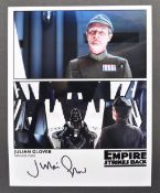 THE EMPIRE STRIKES BACK - JULIAN GLOVER AUTOGRAPHED PHOTO