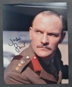 QUATERMASS & THE PIT - JULIAN GLOVER AUTOGRAPHED PHOTOGRAPH