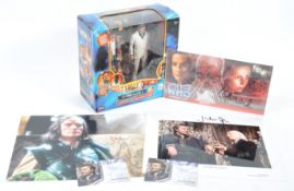 DOCTOR WHO - JULIAN GLOVER MEMORABILIA COLLECTION