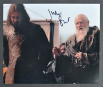 GAME OF THRONES - JULIAN GLOVER SIGNED PHOTOGRAPH