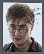"DANIEL RADCLIFFE - HARRY POTTER - RARE SIGNED 8X10"" PHOTOGRAPH"