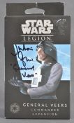 STAR WARS LEGION - FACTORY SEALED AUTOGRAPHED FIGURE