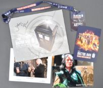 DOCTOR WHO 50TH ANNIVERSARY CELEBRATION - GLOVER'S PERSONAL BROCHURE