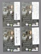 GAME OF THRONES - MULTI-SIGNED CAST LEAFLET COLLECTION