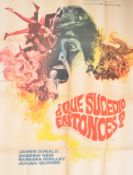 QUATERMASS AND THE PIT (1967) RARE SPANISH MOVIE POSTER