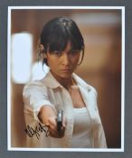 JAMES BOND - OLGA KURYLENKO AUTOGRAPHED PHOTOGRAPH
