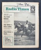 DOCTOR WHO - JULIAN GLOVER'S PERSONAL COPY OF RADIO TIMES 1965