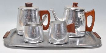 A retro mid century Sona stainless steel Coffee &