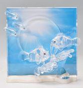 A Swarovski ' Wonders of the Sea ' cut crystal fre