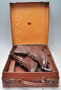 A good pair of vintage 20th Century brown leather