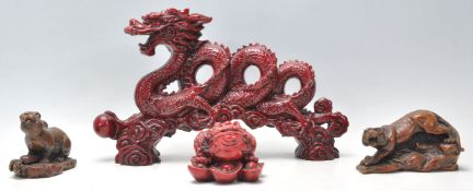 A collection of 20th Century Chinese figurines to
