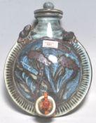 A vintage retro 20th century studio art pottery fl