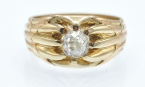 An Antique 18ct Gold & Diamond Ring