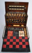 RARE 19TH CENTURY THE ROYAL CABINET OF GAMES COMPENDIUM BOX