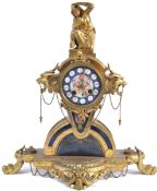19TH CENTURY ORMOLU FRENCH MANTLE CLOCK BY JAPY FRERES