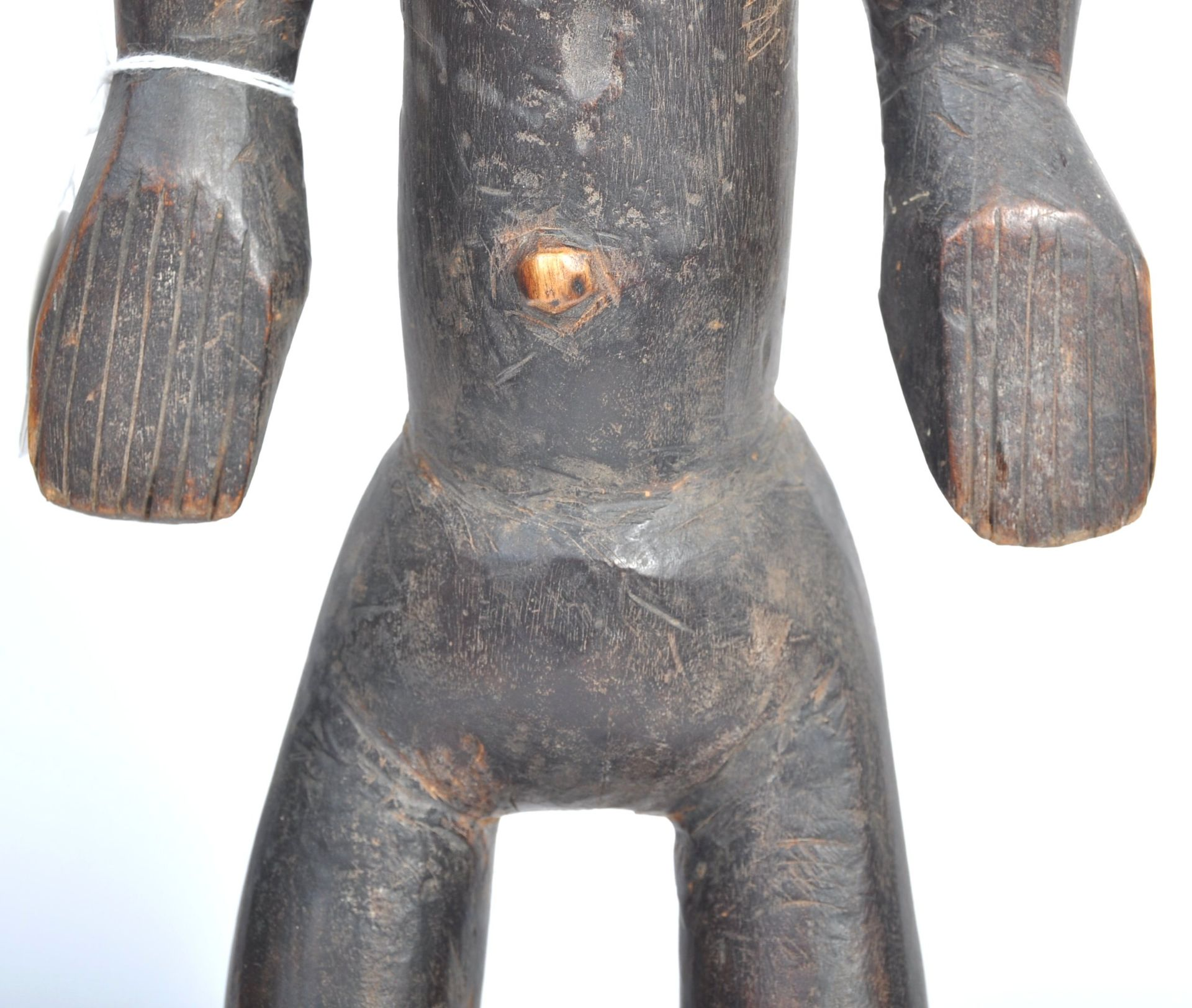 Los 534 - TRIBAL ANTIQUITIES - TWO ANTIQUE AFRICAN BAMBARA FIGURES