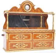 STUNNING 19TH CENTURY ORMOLU AND KINGWOOD TABLE CABINET
