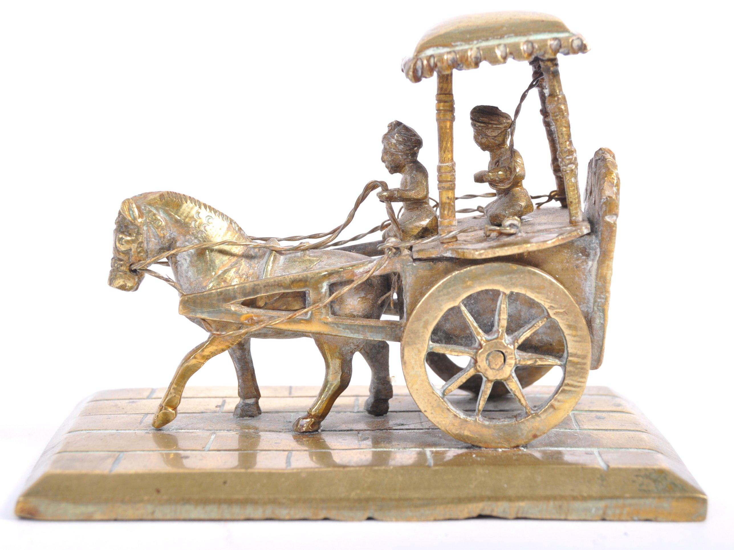 Lot 32 - RARE 19TH CENTURY INDIAN BRONZE TEMPLE LASKSHMI ALTAR PIECE